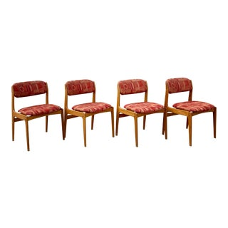 Benny Linden Dining Chairs - Set of 4 For Sale