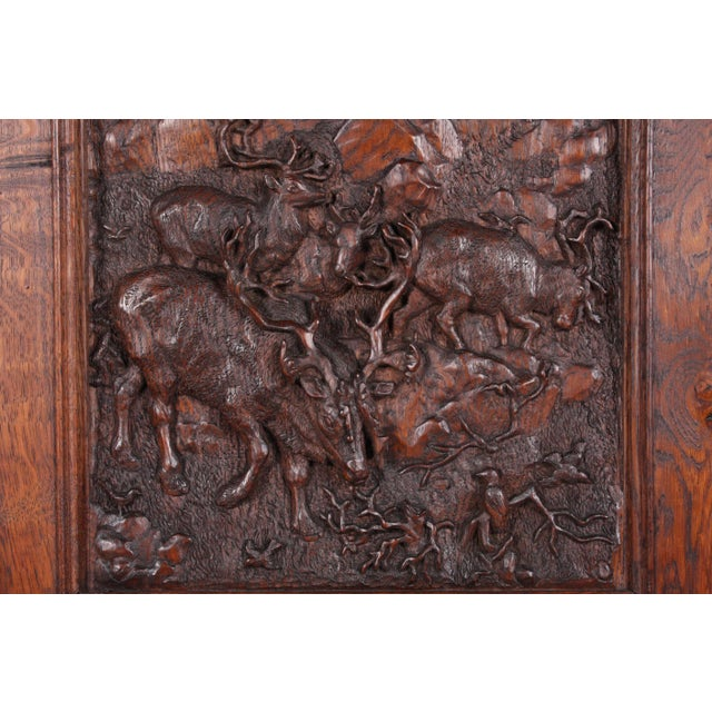 19th-Century Black Forest German Cabinet - Image 6 of 11