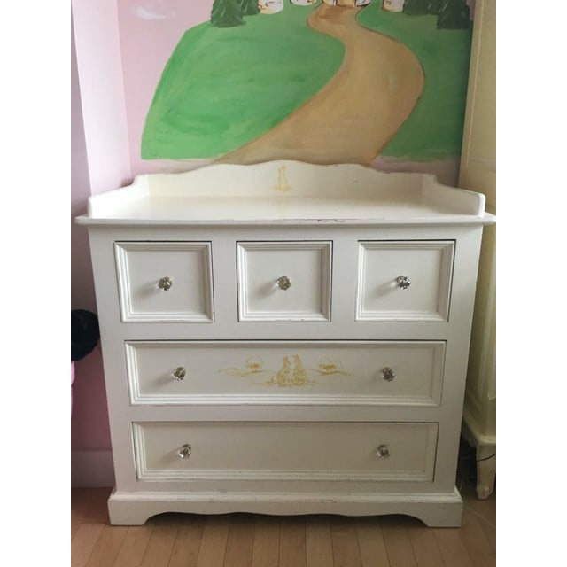Bunny Motif Desser / Changing Table - Image 2 of 3