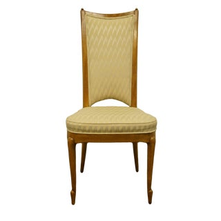 Late 20th Century Vintage Mastercraft Furniture Grand Rapids Italian Provincial Style Dining Side Chair For Sale