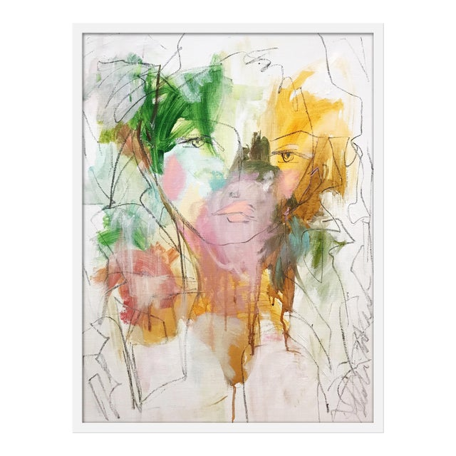 """Medium """"Lilly"""" Print by Leslie Weaver, 26"""" X 35"""" For Sale"""