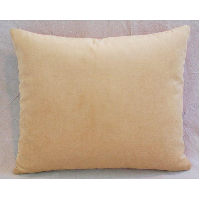 Scottish Plaid Wool & Velvet Down/Feather Pillow - Image 6 of 6