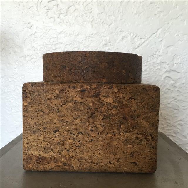 Vintage Cork Tobacco Humidor - Image 2 of 10