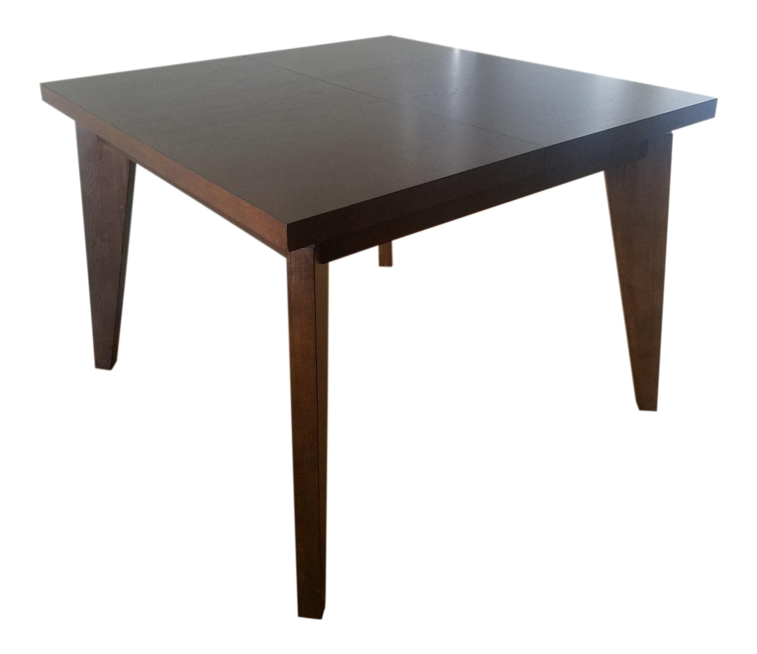West Elm Anderson Solid Wood Expandable Table For Sale