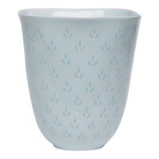 Fluted Porcelain Vase by Freidl Holzer-Kjellberg for Arabia of Finland For Sale