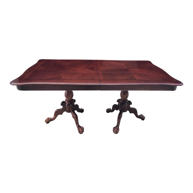 Claw Foot & Ball Dining Table - Image 1 of 7