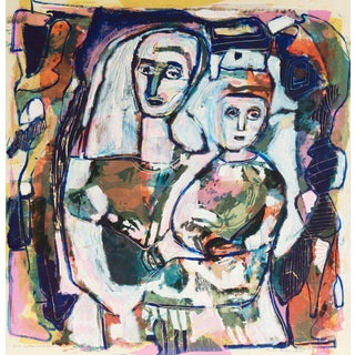 Louis La Barbera Mother and Child For Sale