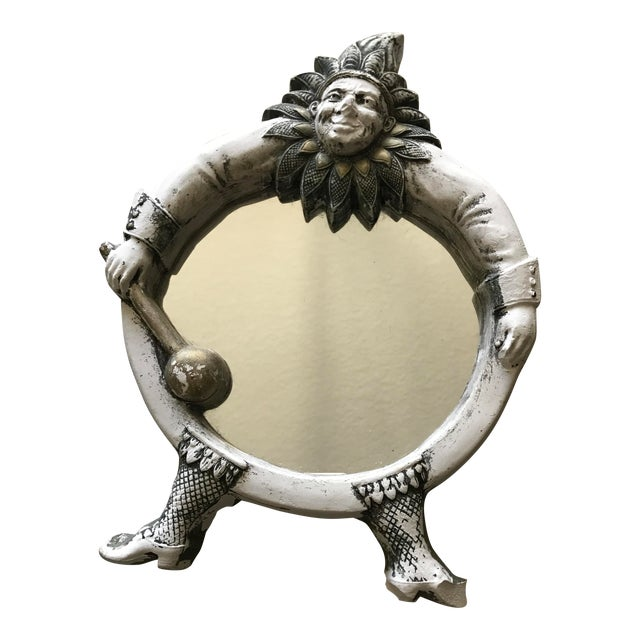 Vintage French Jester Mirror - Image 1 of 7