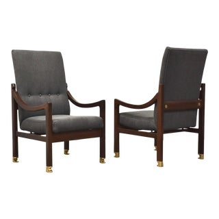 In Kofod Larsen Megiddo Lounge Chairs - a Pair For Sale