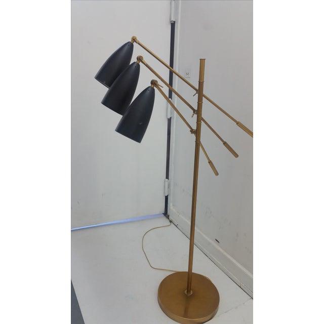 Mid-Century Modern Triennale Arredoluce Floor Lamp For Sale - Image 3 of 8