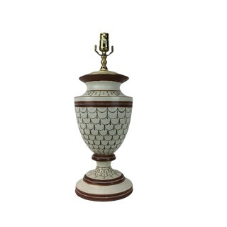 Vintage European Style Urn Lamp For Sale