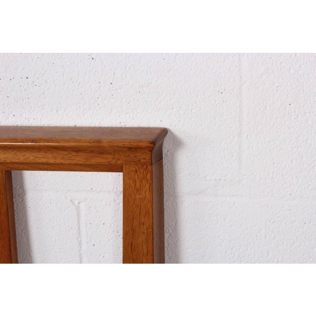 Bleached Mahogany Headboard by Edward Wormley for Dunbar For Sale - Image 10 of 10