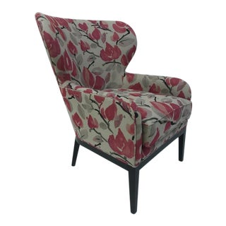 Century Furniture Arielle Wing Chair For Sale