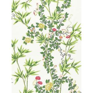 Sample, Scalamandre Jardin De Chine, Spring Fabric For Sale