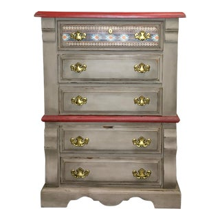 Bassett Western Style Chest of Drawers