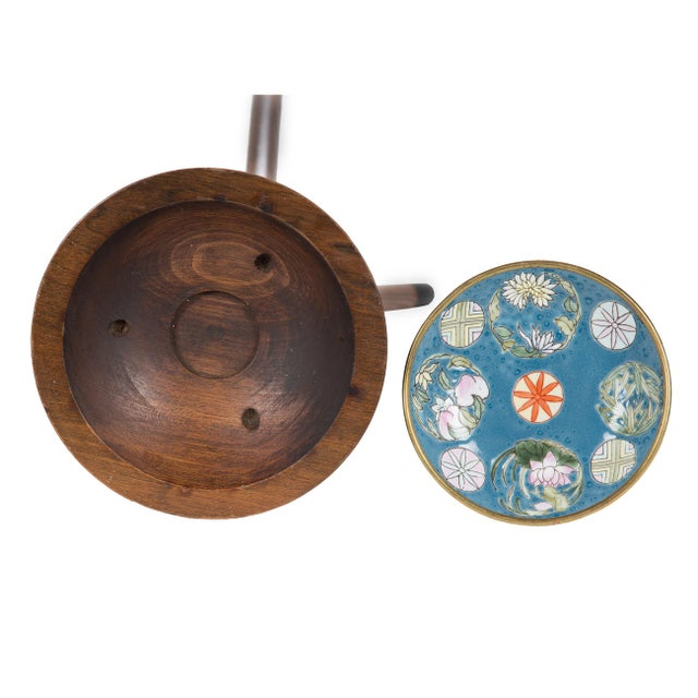 Metal 1960s Japanese Maruni Tripod Ashtray For Sale - Image 7 of 11