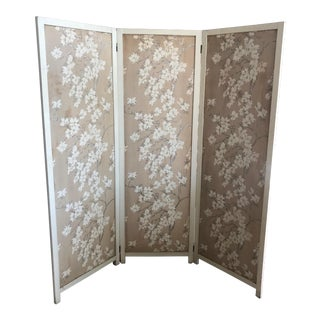 Early 20th Century Folding Screen For Sale