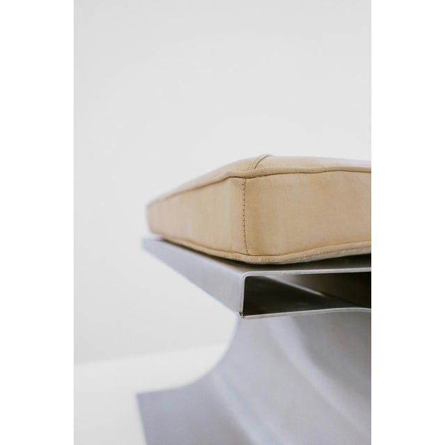 Michel Boyer 'X' Stool, C. 1968 For Sale In Los Angeles - Image 6 of 8