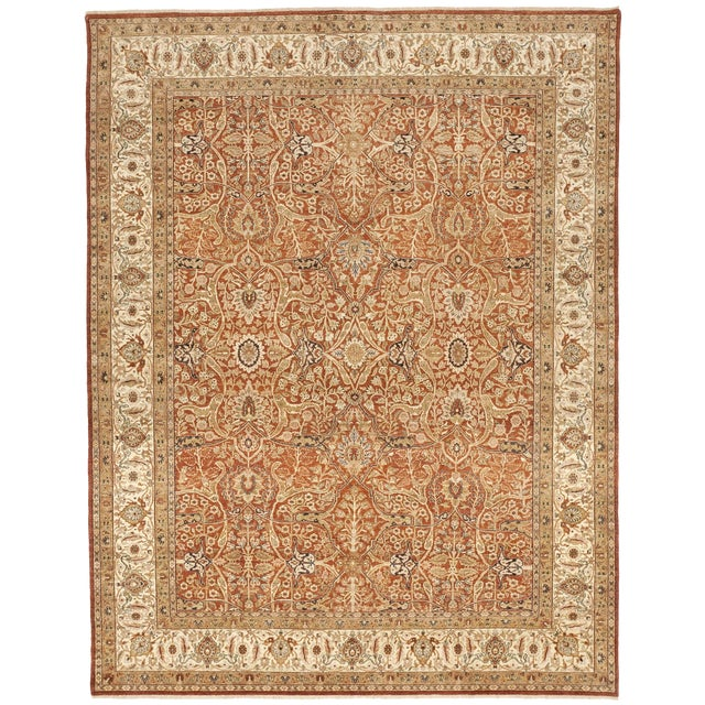 Handmade Indian Rug - 8' x 10' For Sale