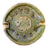 Image of 1960s Brutalist Mid-Century Modern Italian Pottery Ashtray Bowl For Sale