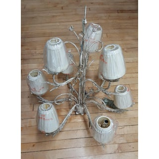 Boho Shabby Chic Floral 9 Light Chandelier Preview