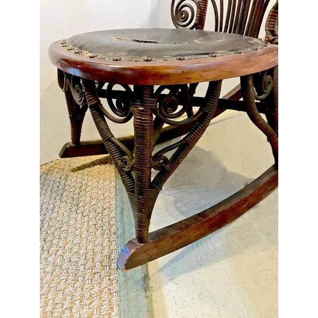 Heywood Wakefield Rocking Chair For Sale In Los Angeles - Image 6 of 10