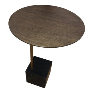 West Elm Cube C-Side Table For Sale