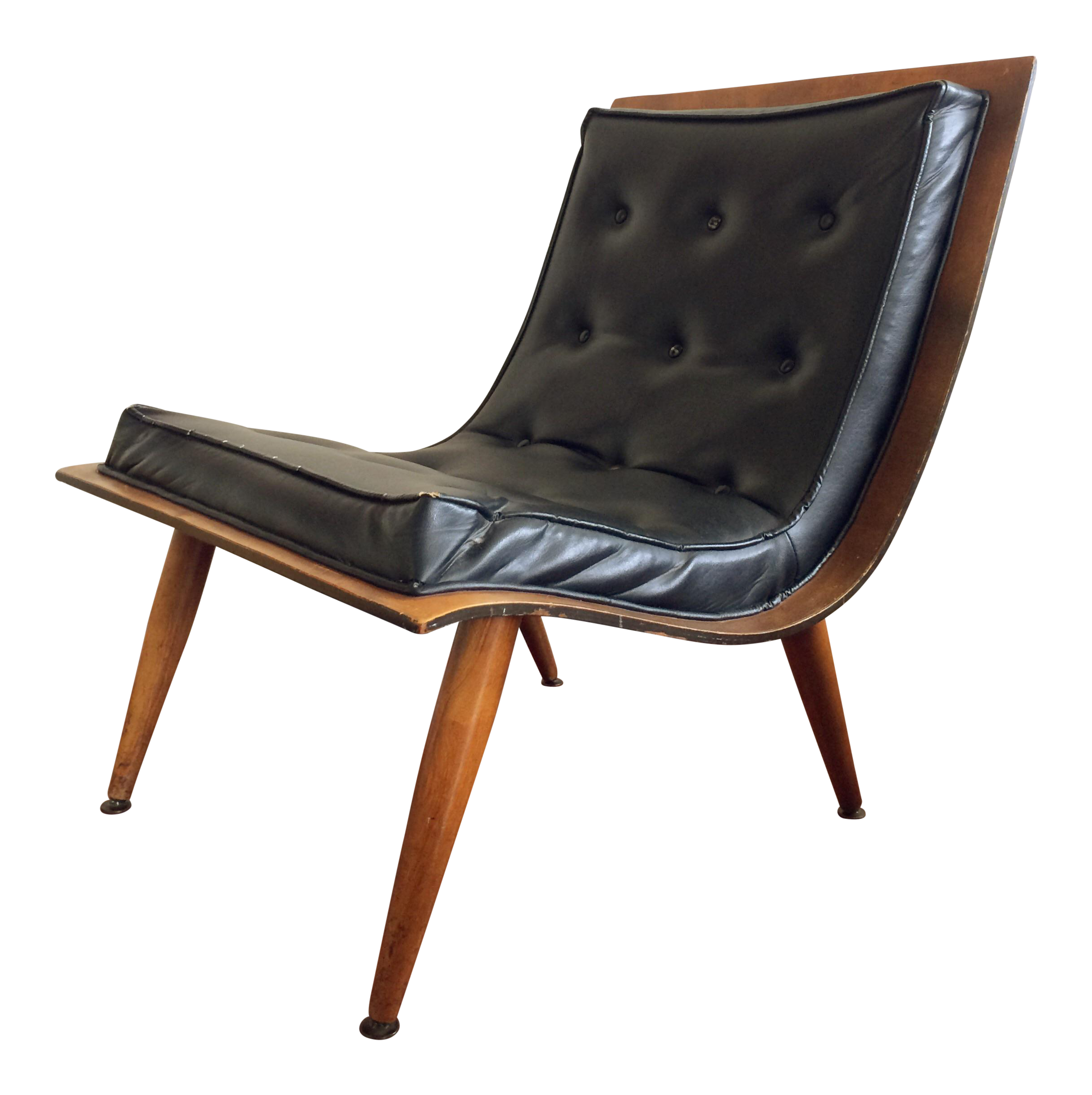 Incroyable Mid Century Carter Brothers Scoop Chair