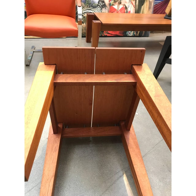 Rob Edley Welborn Designed Prototype Bench or Stool For Sale In Palm Springs - Image 6 of 9
