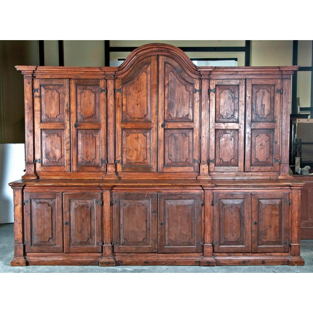 Spanish Colonial Massive Cabinet - Image 2 of 6