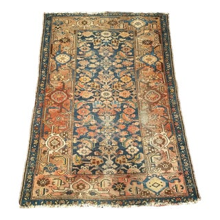 Early 1900s Persian Malayer Rug - 3′5″ × 4′6″ For Sale