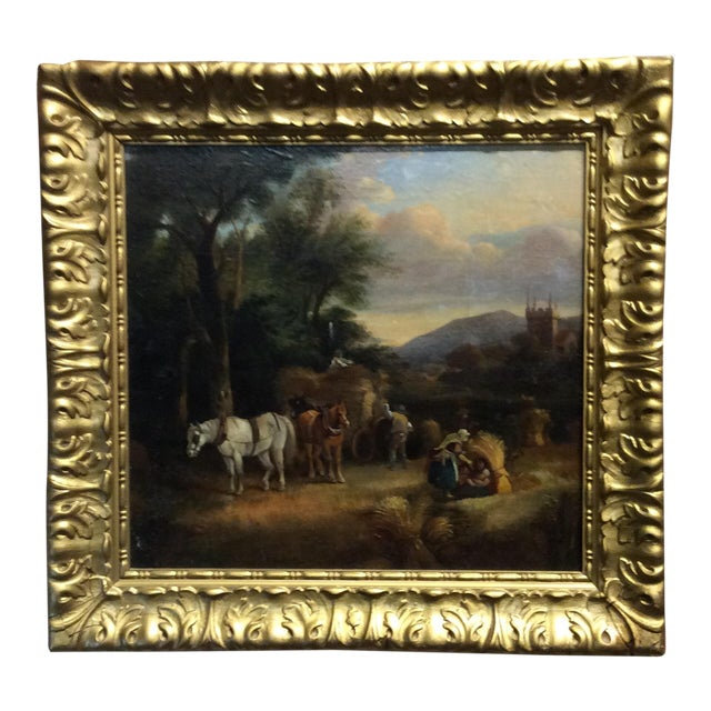 Antique 18th Century Dutch Old Masters Oil Painting For Sale