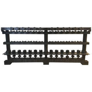 Industrial Metal Sculpture or Decorative Object For Sale