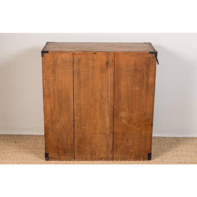 Antique Japanese Merchant's Chest For Sale - Image 9 of 10