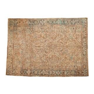 "Vintage Distressed Mehrivan Carpet - 7'10"" X 11' For Sale"