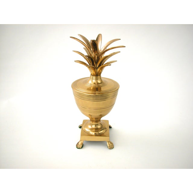 Brass Pineapple Container - Image 6 of 7