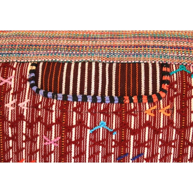 """The Jimmy"" Guatemalan Pillow - Image 4 of 5"