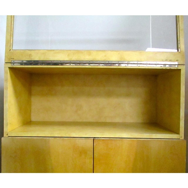 Burlwood Bar Liquor Cabinet - Image 3 of 5