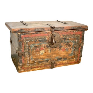 18th Century Spanish Colonial Box For Sale