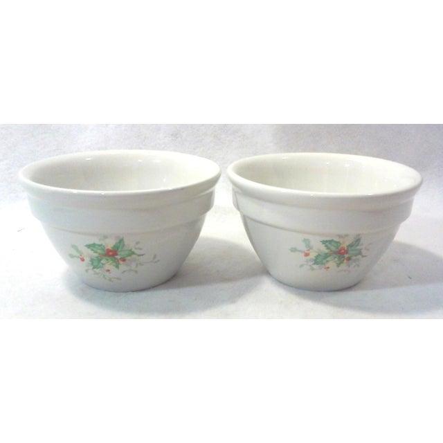 Holly Leaf Halls China Bowls - Pair - Image 5 of 5