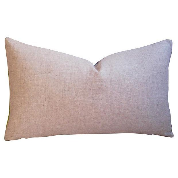Custom Hand-Looped/Tufted Chindi Pillows - a Pair - Image 4 of 6