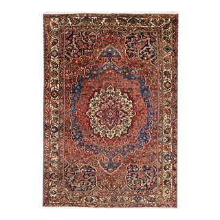 Antique Persian Bakhtiari Rug With Traditional Modern Style