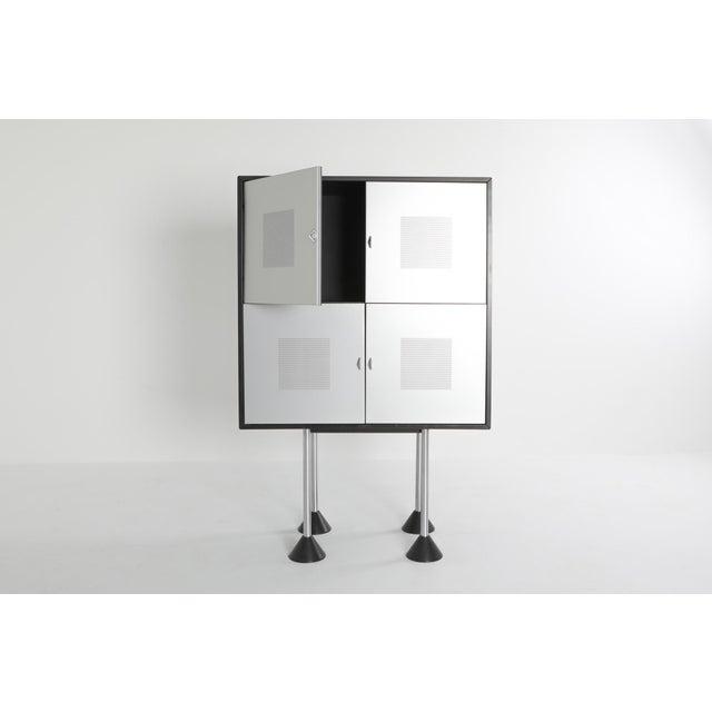 1980s 1980s Pastoe Postmodern Memphis Style Cabinet by Gerard Van Den Berg For Sale - Image 5 of 12