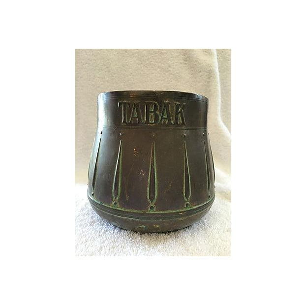 Brass Tabak Spittoon Vessel From Holland - Image 2 of 4