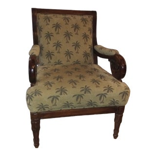 Vintage Palm Tree Chair For Sale