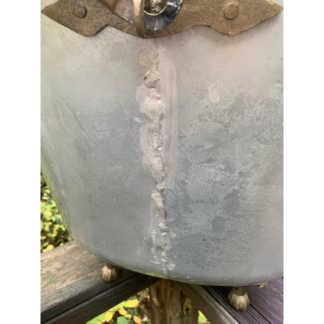 Antique Bathtub Water Scuttle, 10 Gallons For Sale - Image 11 of 13