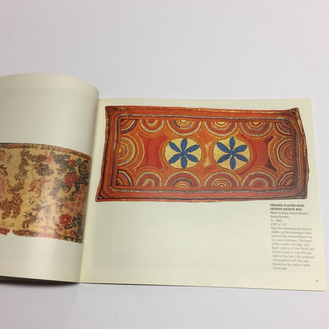 Light From the Past Early American Rugs Book For Sale - Image 4 of 10
