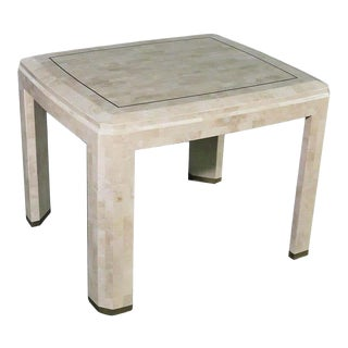 Modern Tessellated Dining Table For Sale