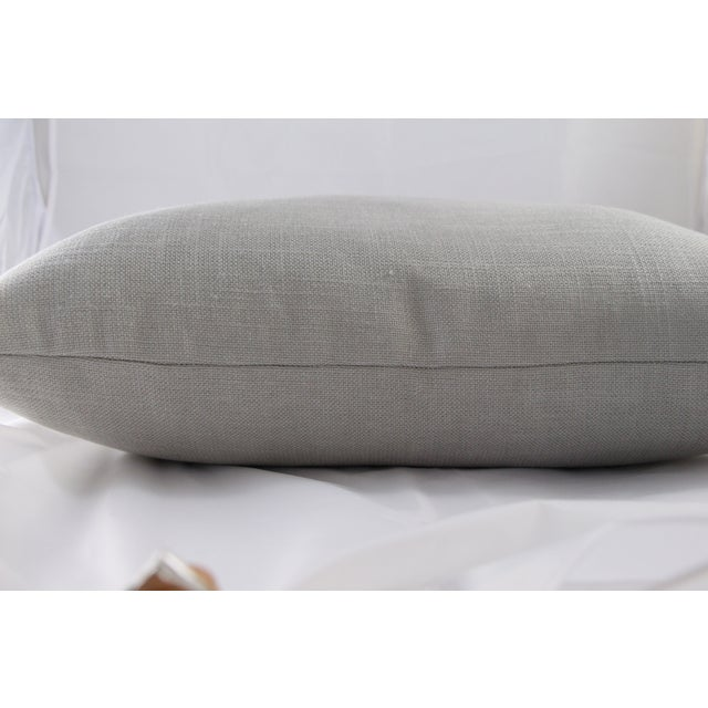 Silver Linen Pillow - Image 5 of 5