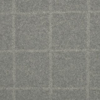 Clarence House Lennox Pale Grey Fabric For Sale